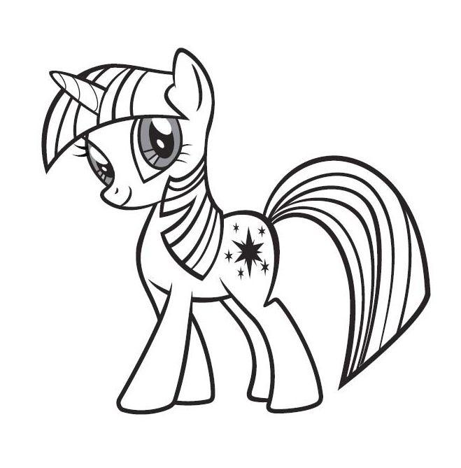 Little poney twilight sparkle little pony pinterest poney coloriage et petit poney - Coloriage petit poney ...