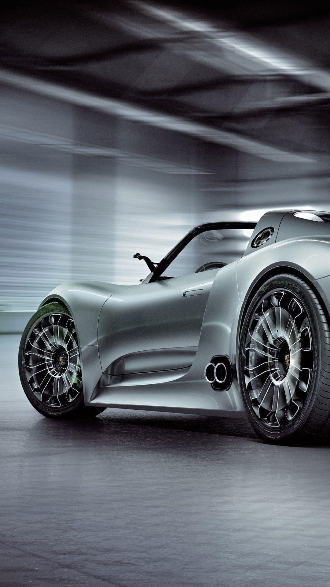 Porsche 918 Spyder Concept Supercar The Man Porsche Spyder