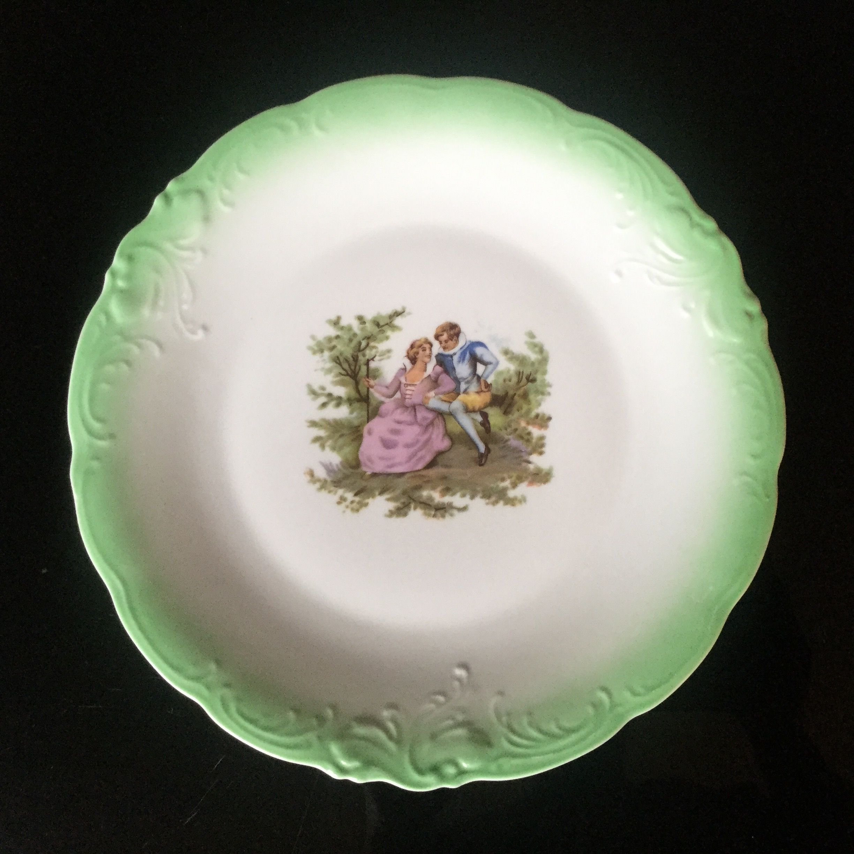 Niezwykle Dekoracyjny Talerz Wyprodukowany W Walbrzychu Pie Dish Dishes