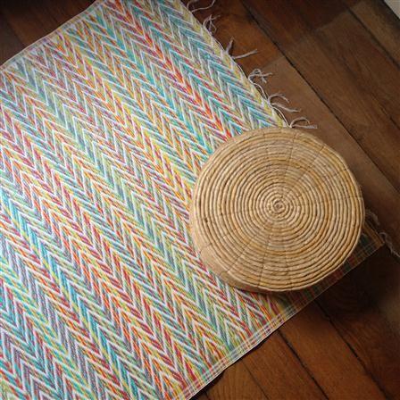 csao natte en plastique 90x180 cm multicolore losange tapis pinterest tapis tapis. Black Bedroom Furniture Sets. Home Design Ideas
