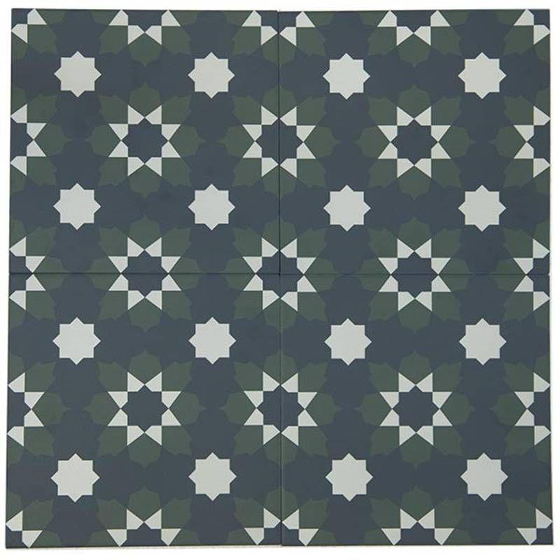 Carrelage Andalou carreaux de ciment vintage multicolore   Comptoir du cerame, Carrelage ...