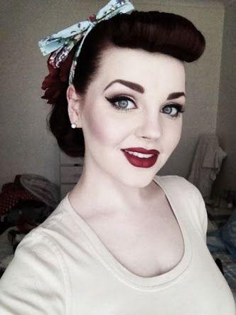50s makeup eyes - Google Search