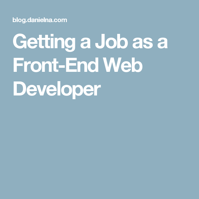 A FrontEnd Web Developer Is Responsible For Implementing Visual