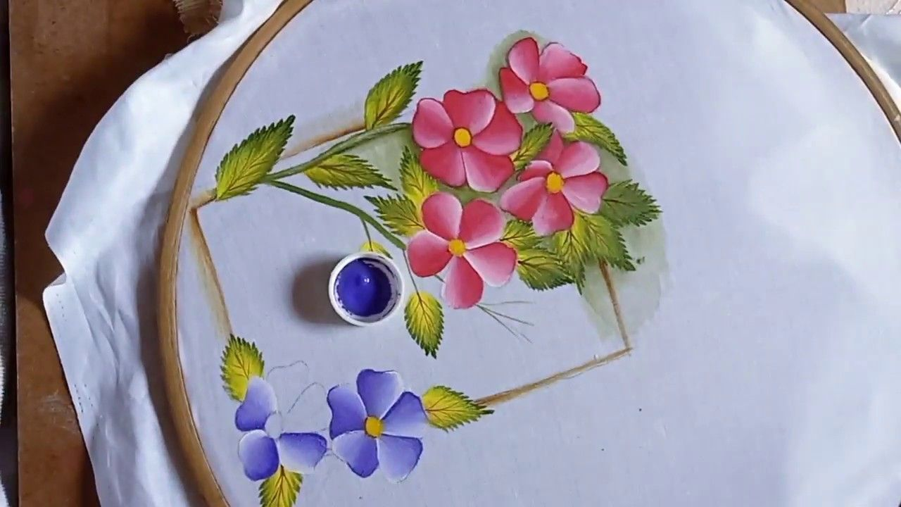 19+ Flower designs for painting on cloth ideas in 2021