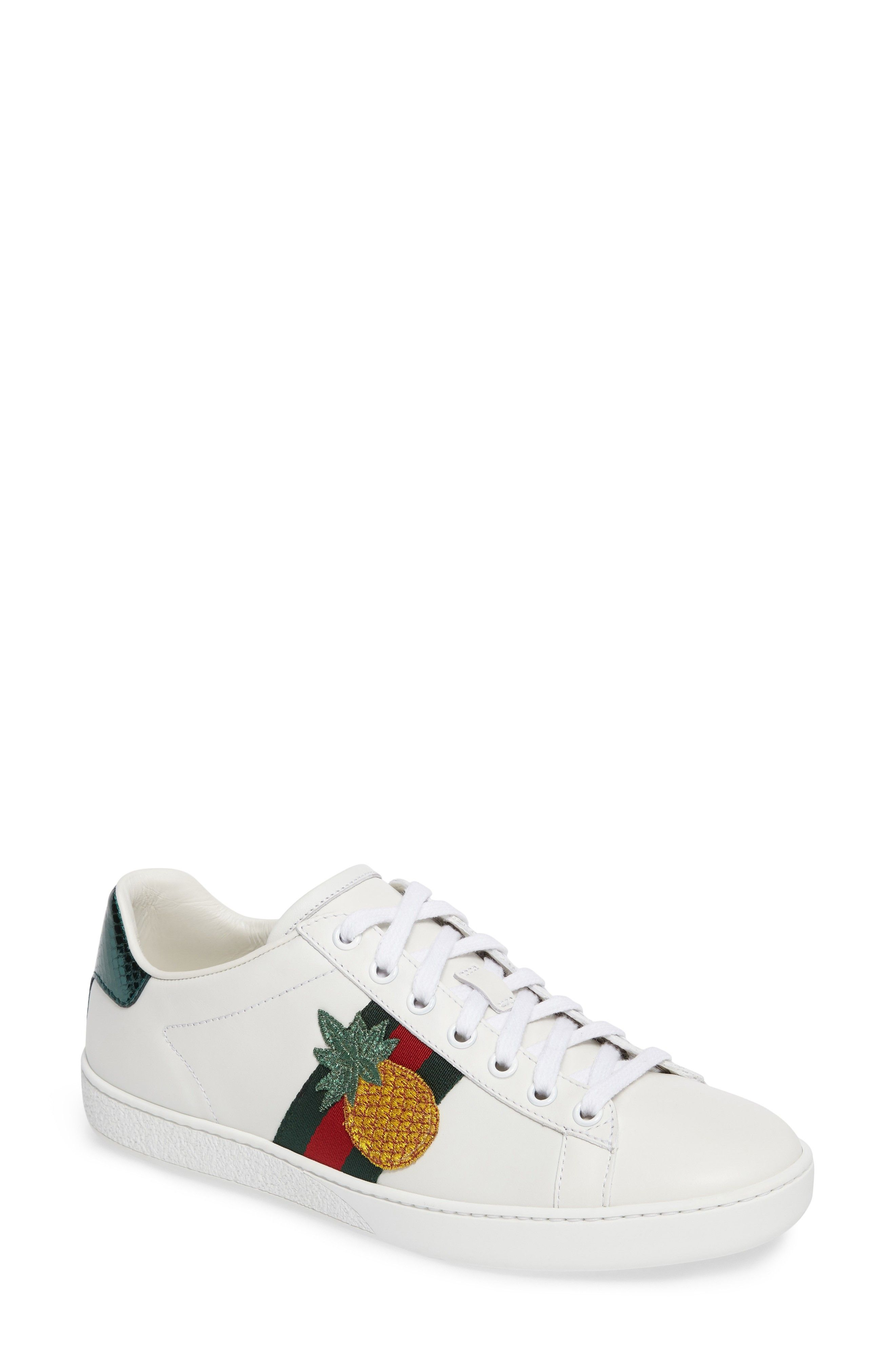 New GUCCI New Ace Pineapple Sneaker