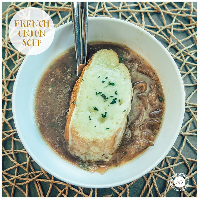Having made my fair share of botched French Onion Soups, here's a recipe that finally works! Enjoy! :)    #WednesdayRecipe