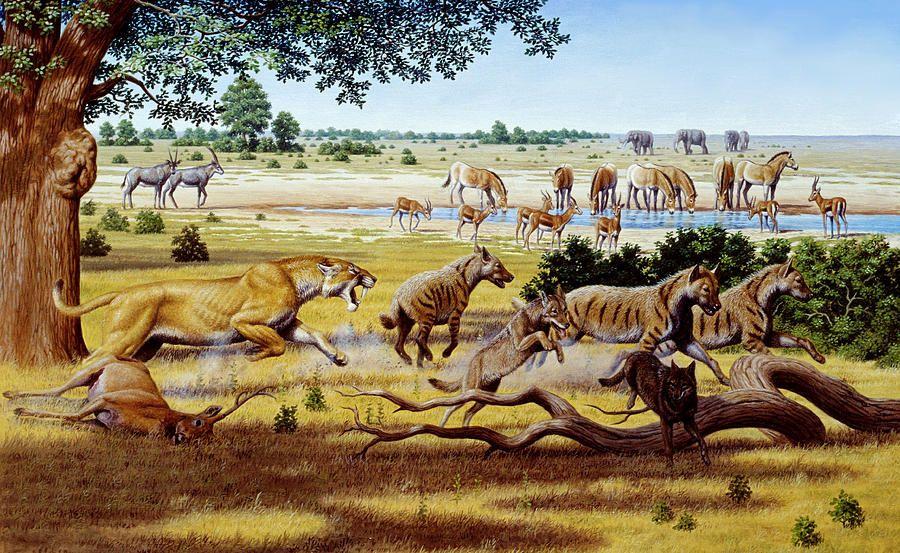 Картинки с древними животными