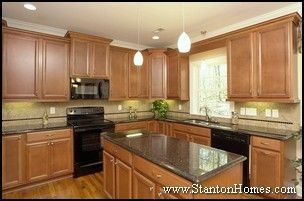 Kitchen Design Ideas Black Appliances our next kitchen design example goes basic, with black and medium