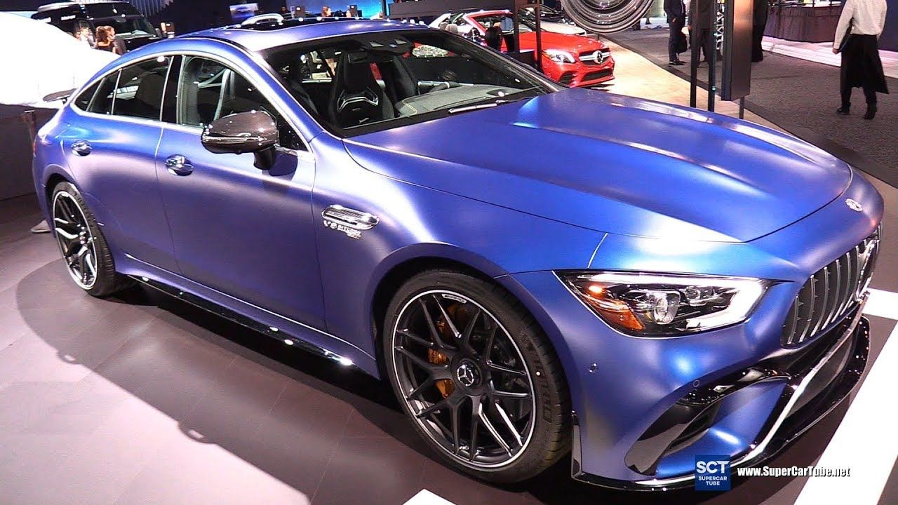 2019 Mercedes Amg Gt 63 S 4 Doors Coupe Exterior Interior