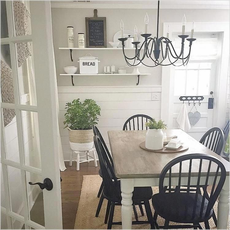 You Can Hang A Big Mirror In A Main Place Of Your Space Or Place It Throughout A Window Country Dining Rooms French Country Dining Room Farmhouse Dinning Room