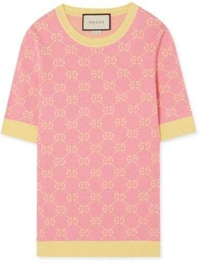 0fd586de8a6 Fashion Concierge Vip Gucci - Intarsia Cotton sweater in 2019 ...