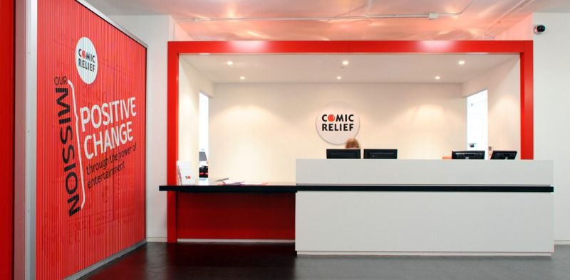 Small office reception design ideas office interior for Bureau reception
