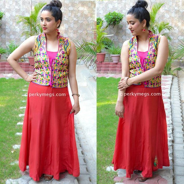0971cd359 Check out my youtube channel Perkymegs for more such Indian ethnic fashion