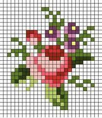 Resultado de imagen de patrones rusos antiguos de punto de cruz de flores