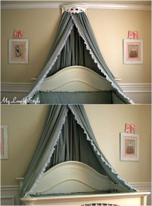 These 23 DIY Bed Canopies Will Ensure That You Sleep Like A (Glamorous) Baby