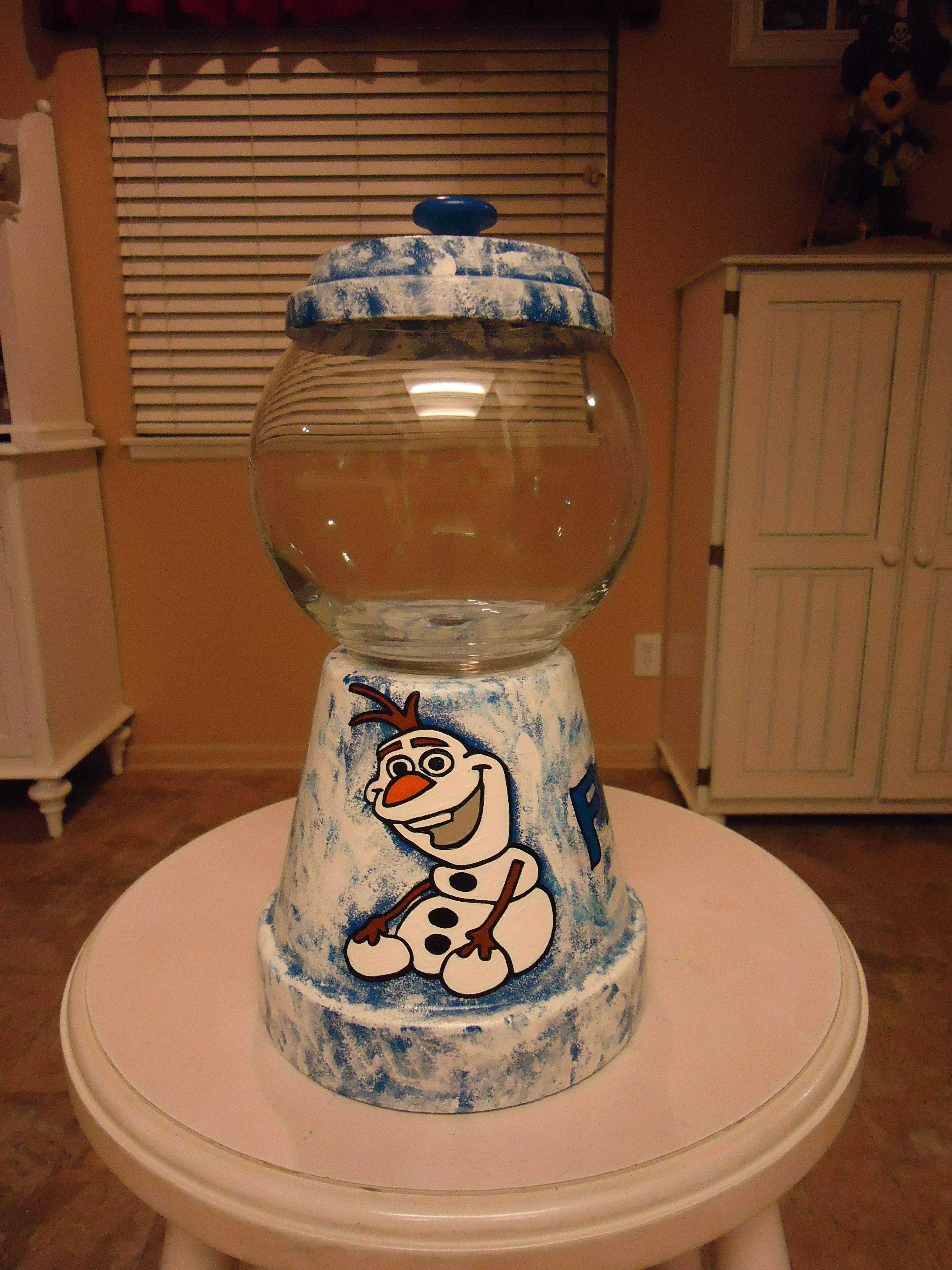 Frozen Themed Candy Jar