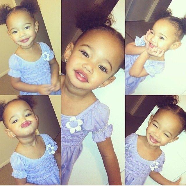 She Is Too Adorable Cute Kids Lightskin Babies Pretty Baby