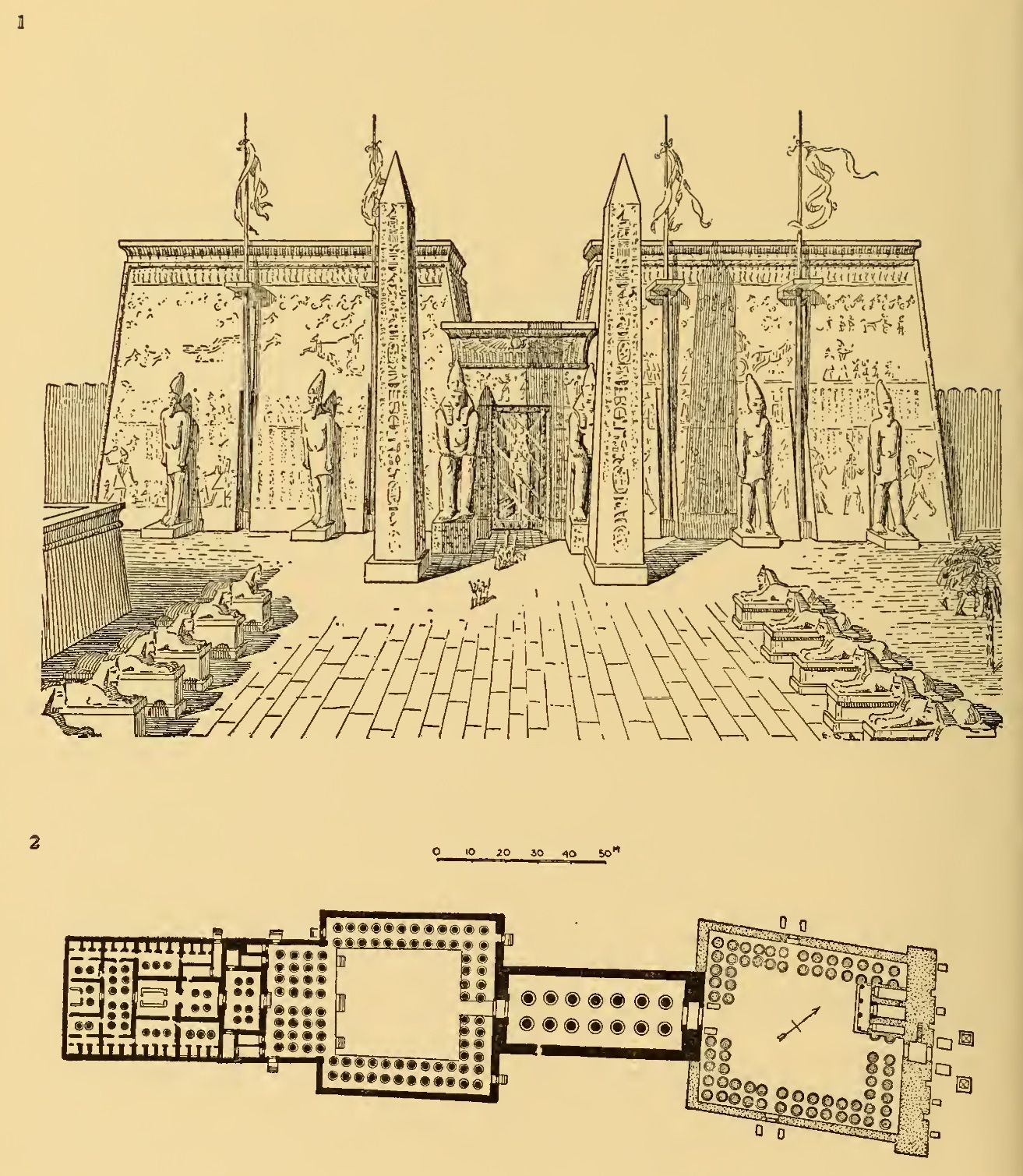 Temple of Amon-Re at Luxor (1)