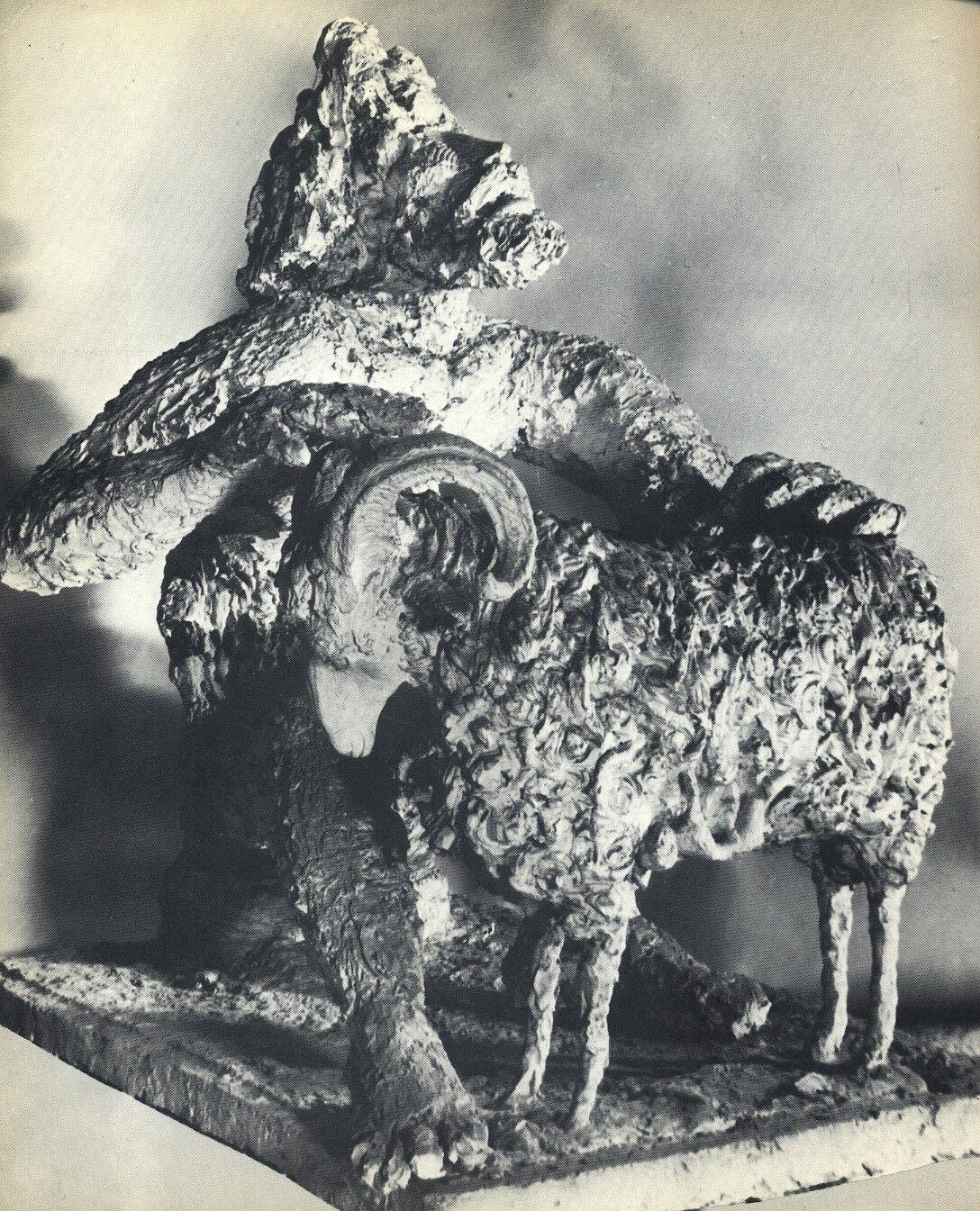 Apeles Fenosa, Polifemo (bronce), 1949.