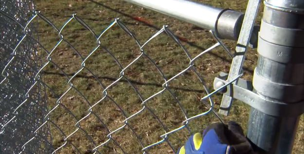 How To Install A Chain Link Fence Diy Self Sufficiency Chain