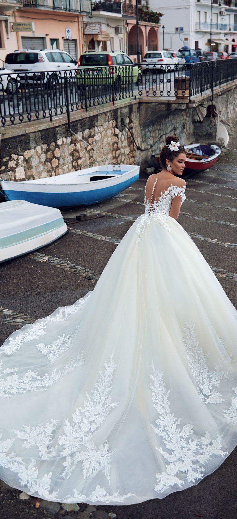 "c38b575d029b Anna Sposa 2019 Wedding Dresses ""Bella Sicilia"" Bridal Collection   weddingdress  weddinggown"