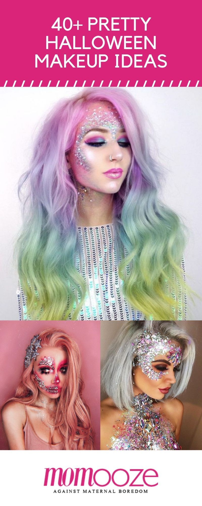 40+ Most JawDropping Pretty Halloween Makeup Ideas