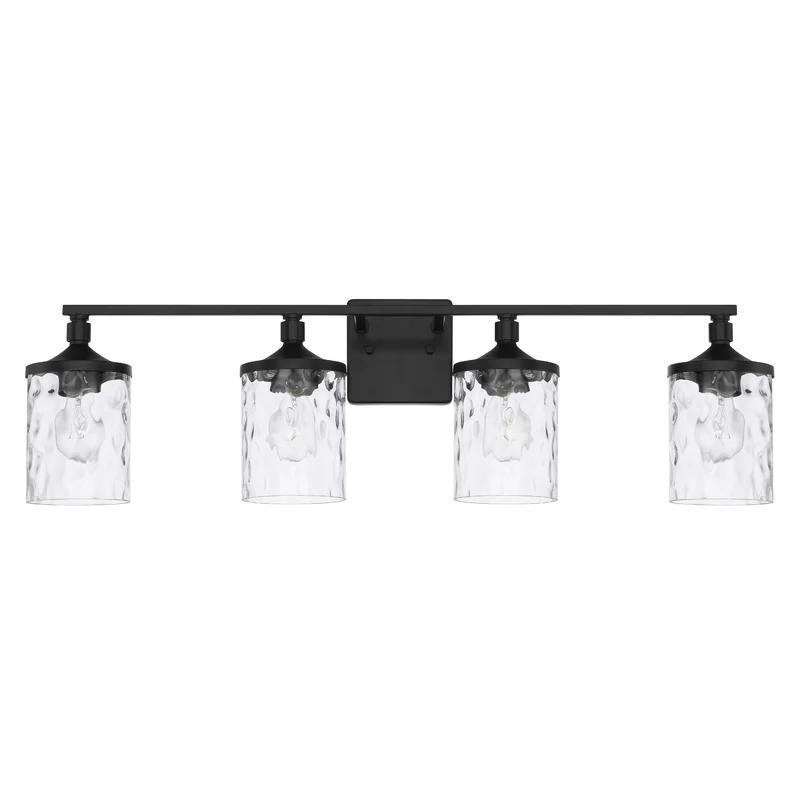 Photo of Graton 4-light dimmable washbasin light