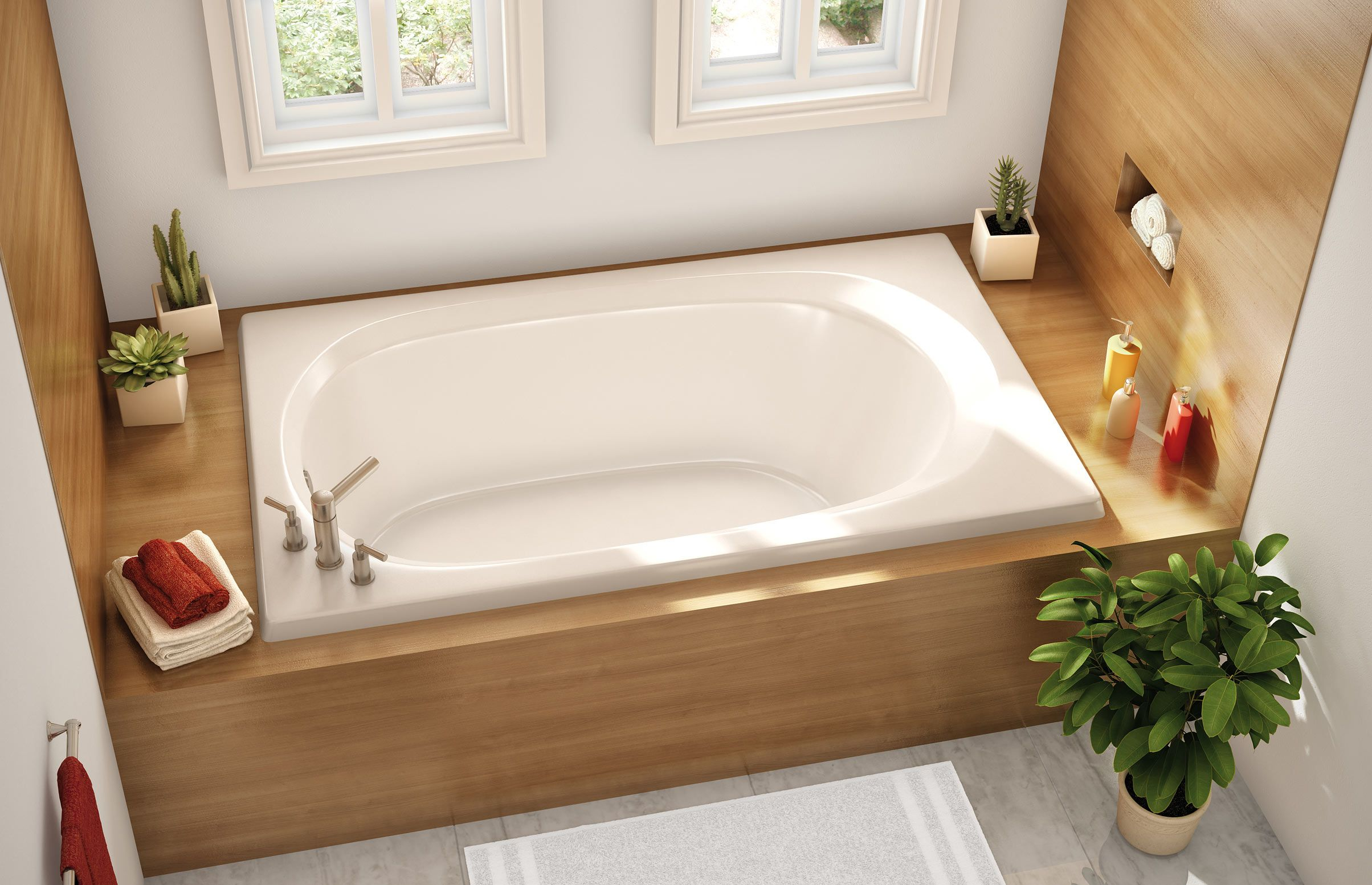 ACOV 4260 Drop-in Bathtub - Aker by MAAX | Kitchen & Bath ...
