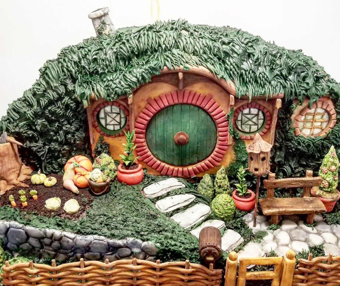 Bilbo Baggins Hobbit Hole. Entirely Edible And Close To