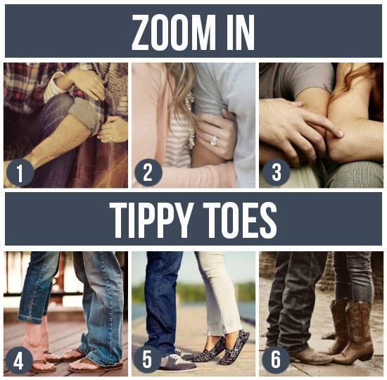 Photo idea: dettagli su mani o piedi