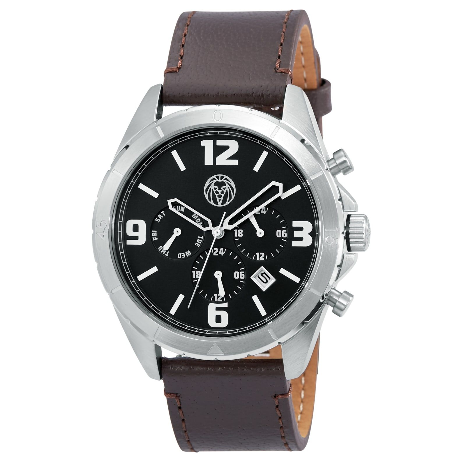 Photo of Traveler Brown Alton Watch | In stock! | Lucleon
