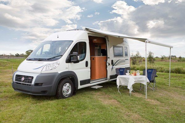 jayco 39 s new campervan fiat b class ducato happy camper. Black Bedroom Furniture Sets. Home Design Ideas
