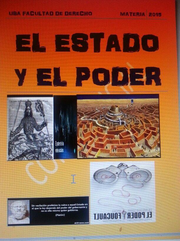 """Uba Derecho Materia """"el estado y el poder""""  bienvenidossssssss"""