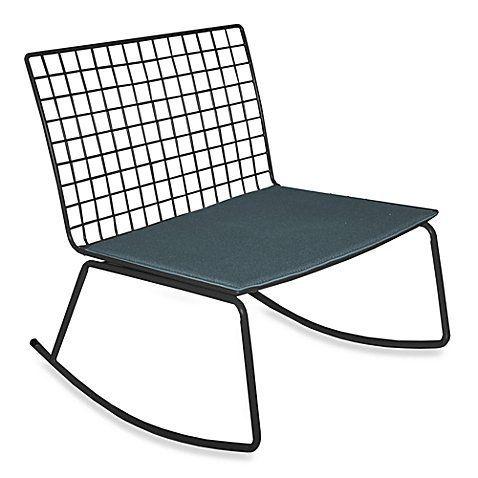 Best Idea Nuova Modern Rocking Chair In Black Generic Https 640 x 480