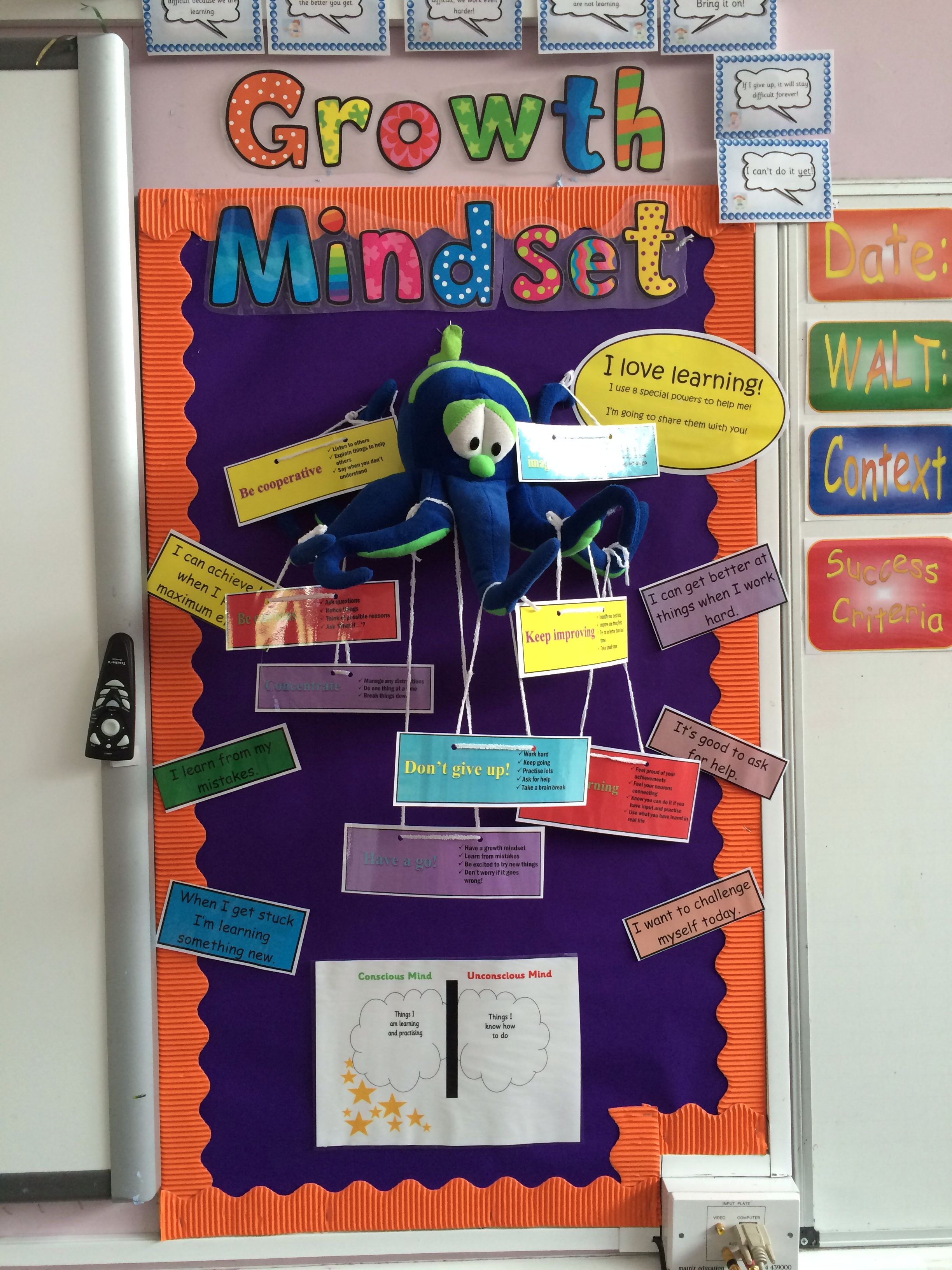 Growth Mindset And Learning Powers Share With