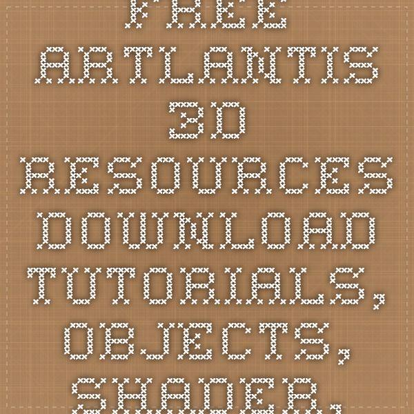 FREE Artlantis 3D Resources Download - Tutorials, Objects, Shader, Materials
