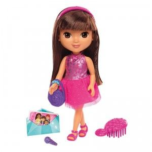 Dora And Friends Dance Party Dora From Fisher Price Dora And Friends Dora Doll Doll Sets