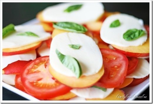 Tomato Nectarine Caprese Salad - Your Specialty Weight Loss Blog | Healthy Eating Recipes | Better Weight Loss Methods | Healthy Recipes for Weight Loss | Low Calorie Recipes | Better Health and Fitness Tips | The Best Fitness Tips and Advice | Lose Weight Fast | Lose Weight Meal Plan