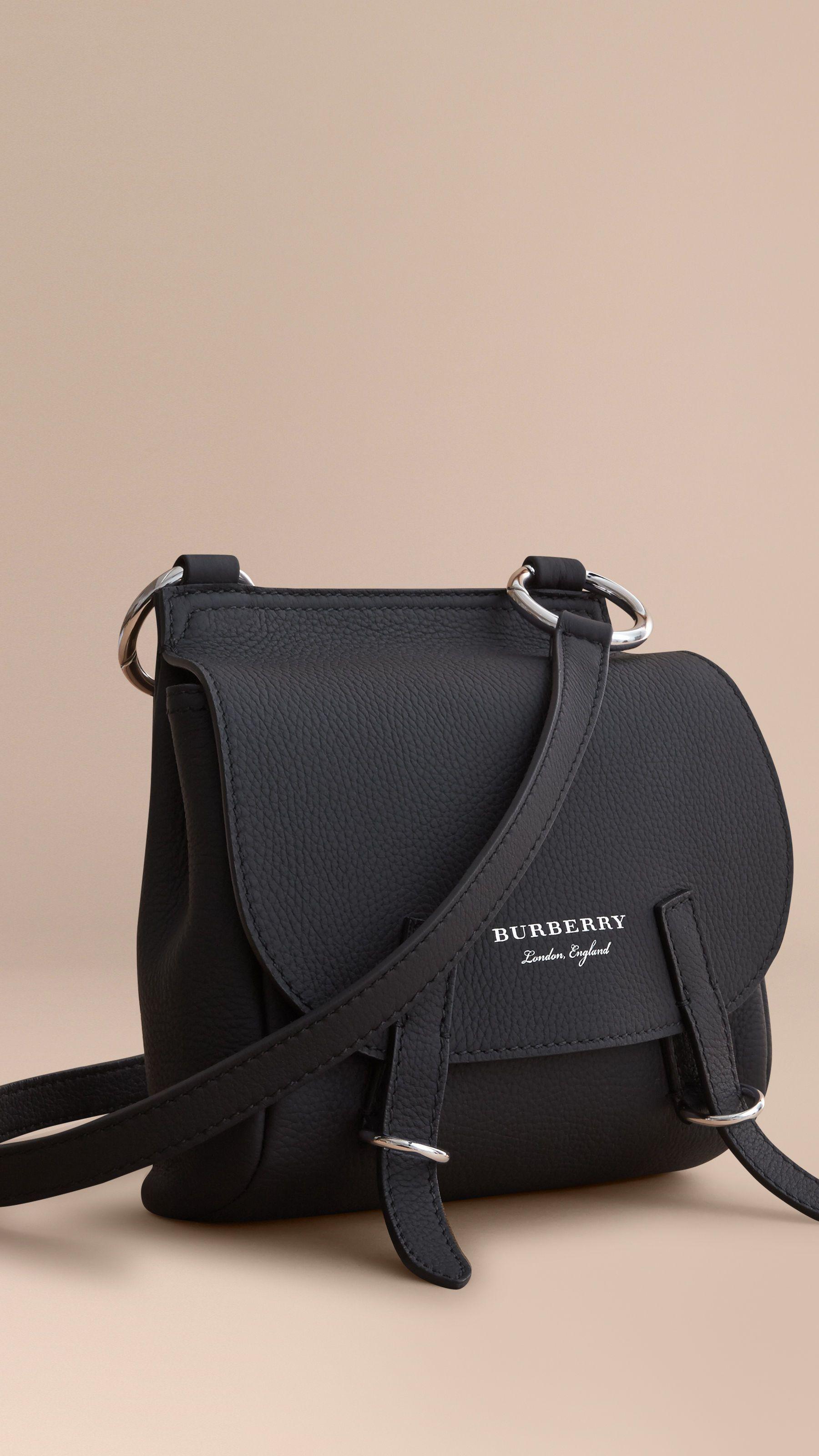 27591755d8 The Bridle Crossbody Bag in Deerskin Black