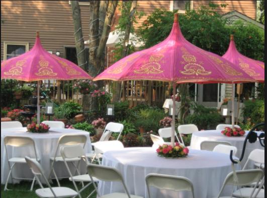 Decorative Garden Parasol
