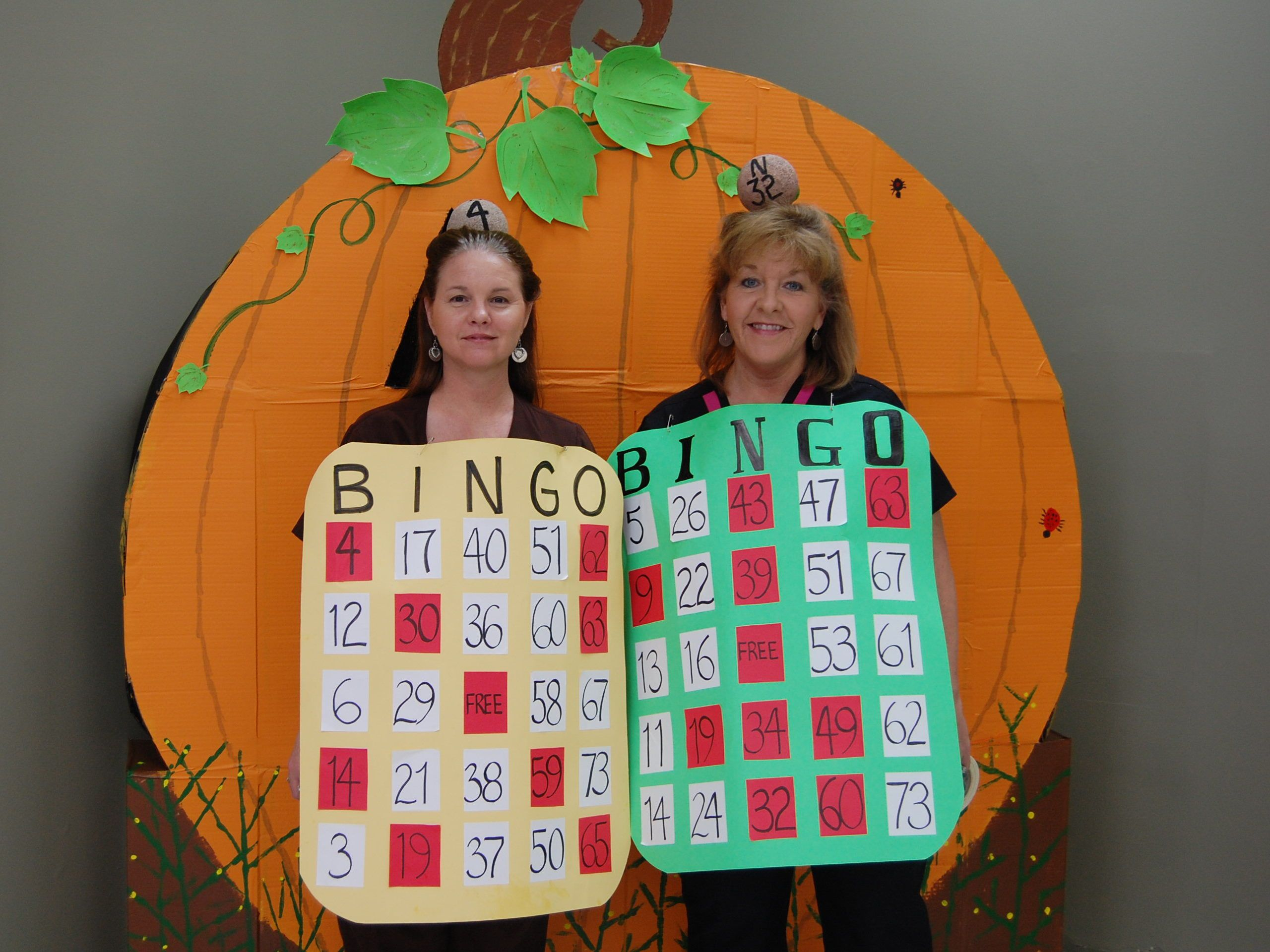 halloween costume i madeso appropriate for working as activity director at nursing homeeven have a bingo ball atop our headsand i made quarter - Halloween Home Costumes