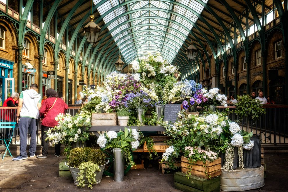 Explore Covent Garden Market in London England Covent