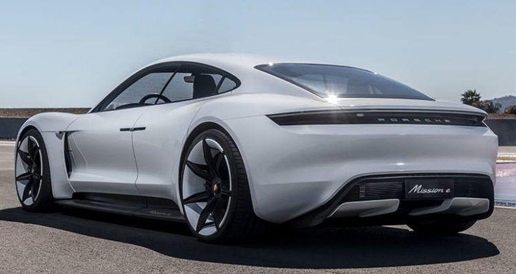 A Closer Look At The 2020 Porsche Taycan Ev Porsche Taycan Porsche Mission Mission E