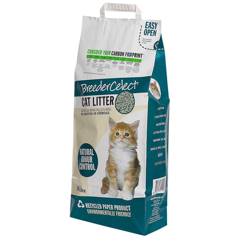 FIBRECYCLE UK Ltd. BREEDER CELECT CAT LITTER (20 LITER