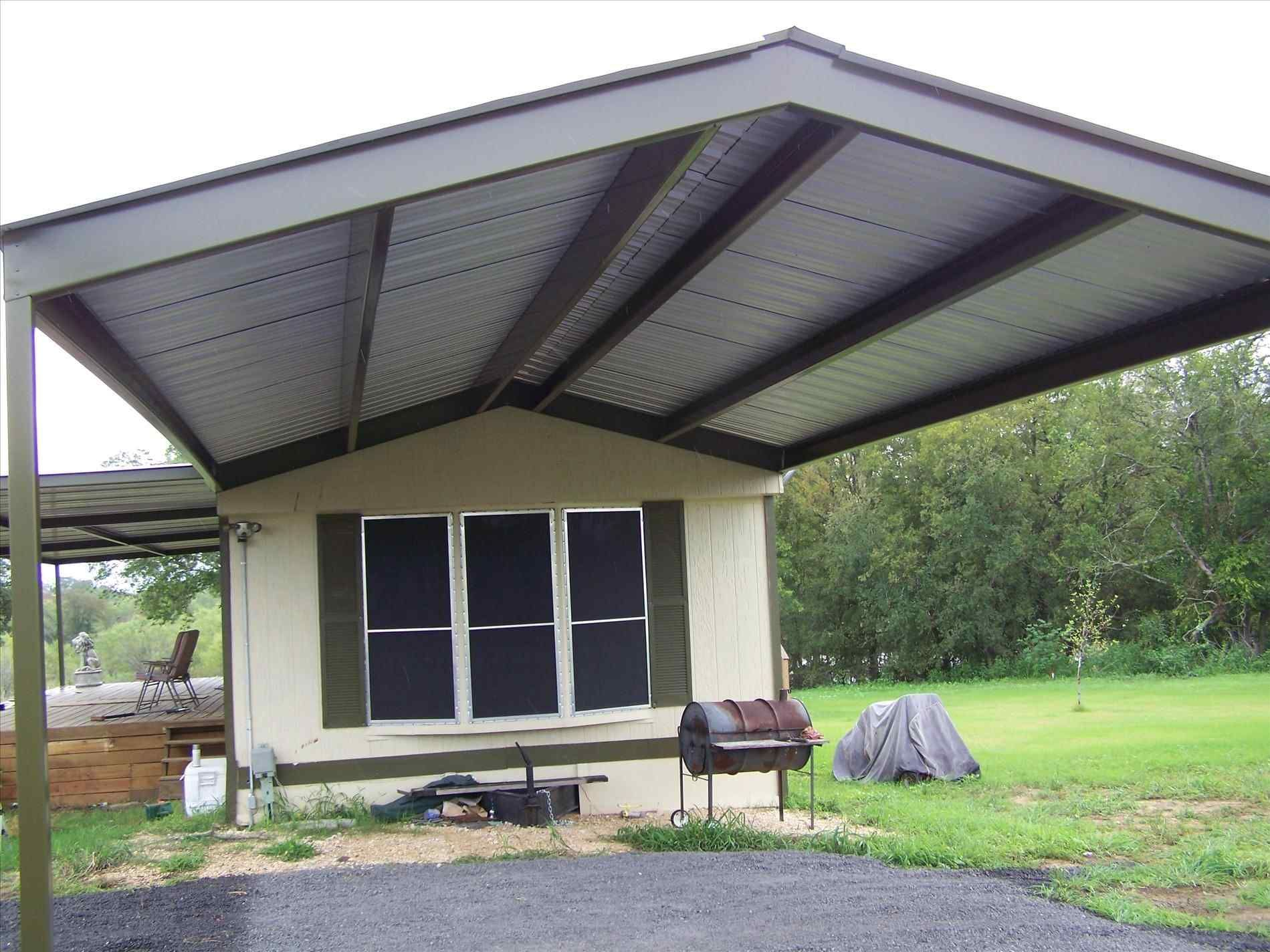 Metal Roof For Mobile Home Mobile Home Roof Mobile Home Porch