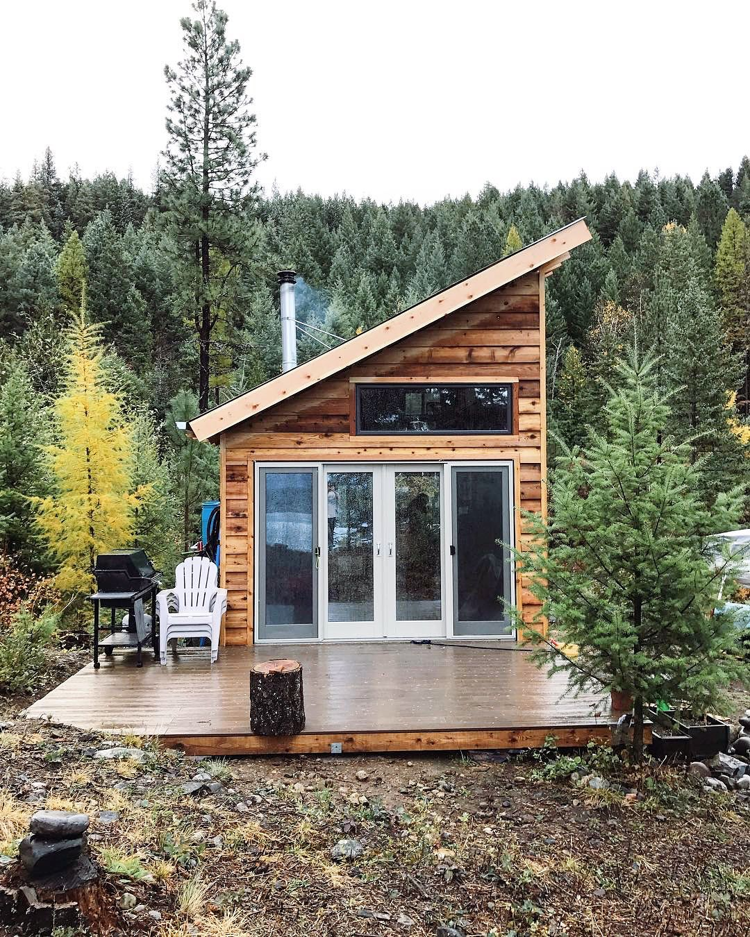 Rwzimmer S Cabin In Idaho Unconventionallyminded Tiny House Interior Design Tiny House Cabin Small House
