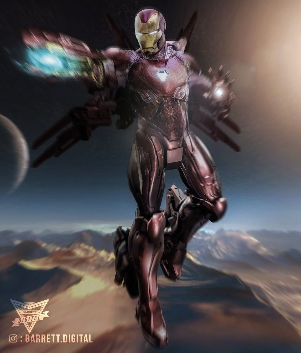 Avengers Infinity War Iron Man New Space Suit