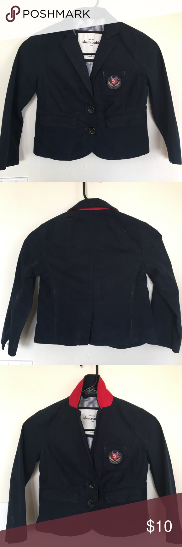 Abercrombie Kids Blazer. Girl's size (M) Abercrombie Kids Blazer. Girl's size (M). Cute w/ dress pants, skirt or jeans, Soft cotton. Beautifully lined. Great condition. Abercombie Kids Jackets & Coats Blazers