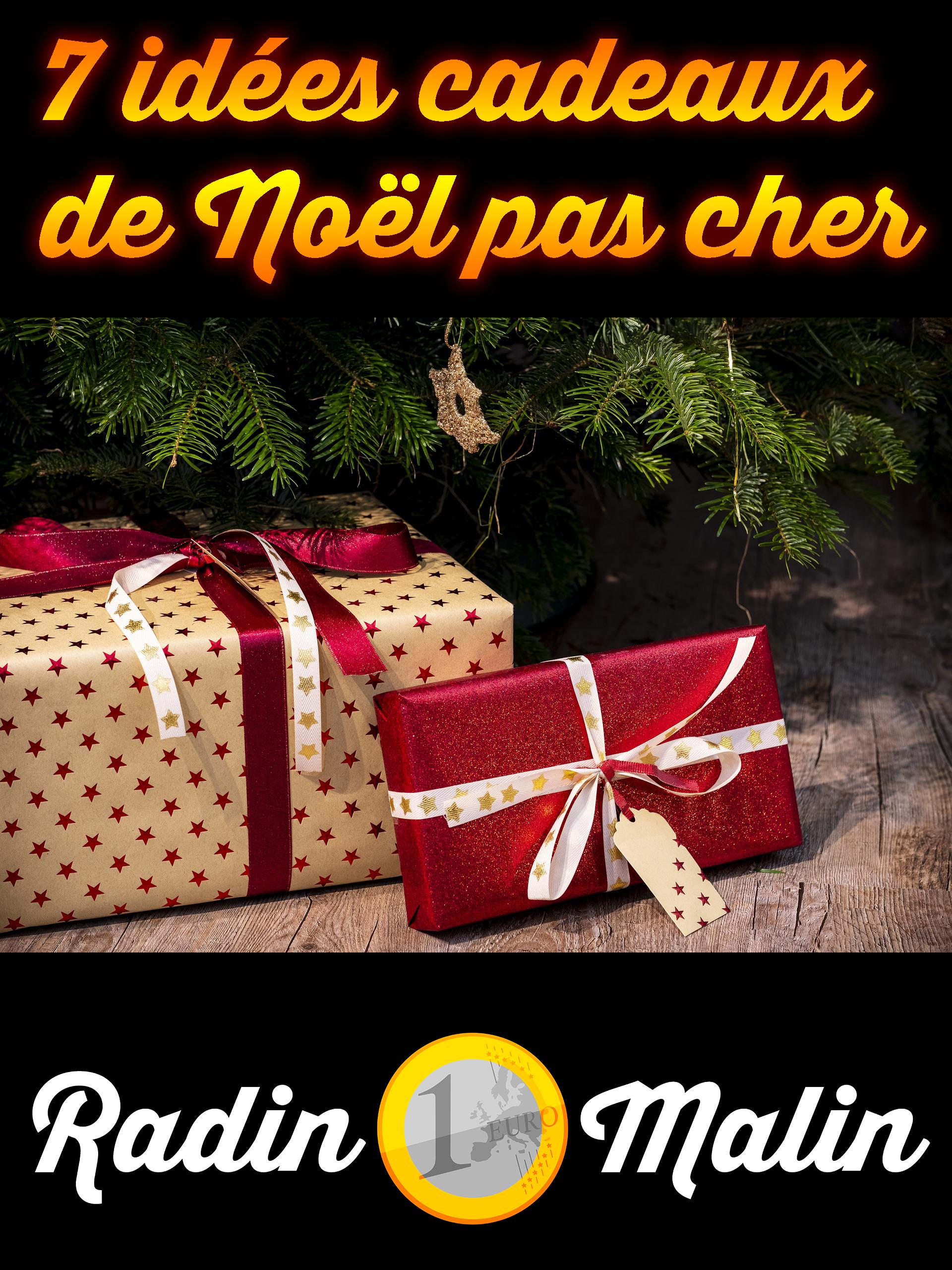 7 idées cadeaux de Noël pas cher (voire gratuit !)   Cadeau noel