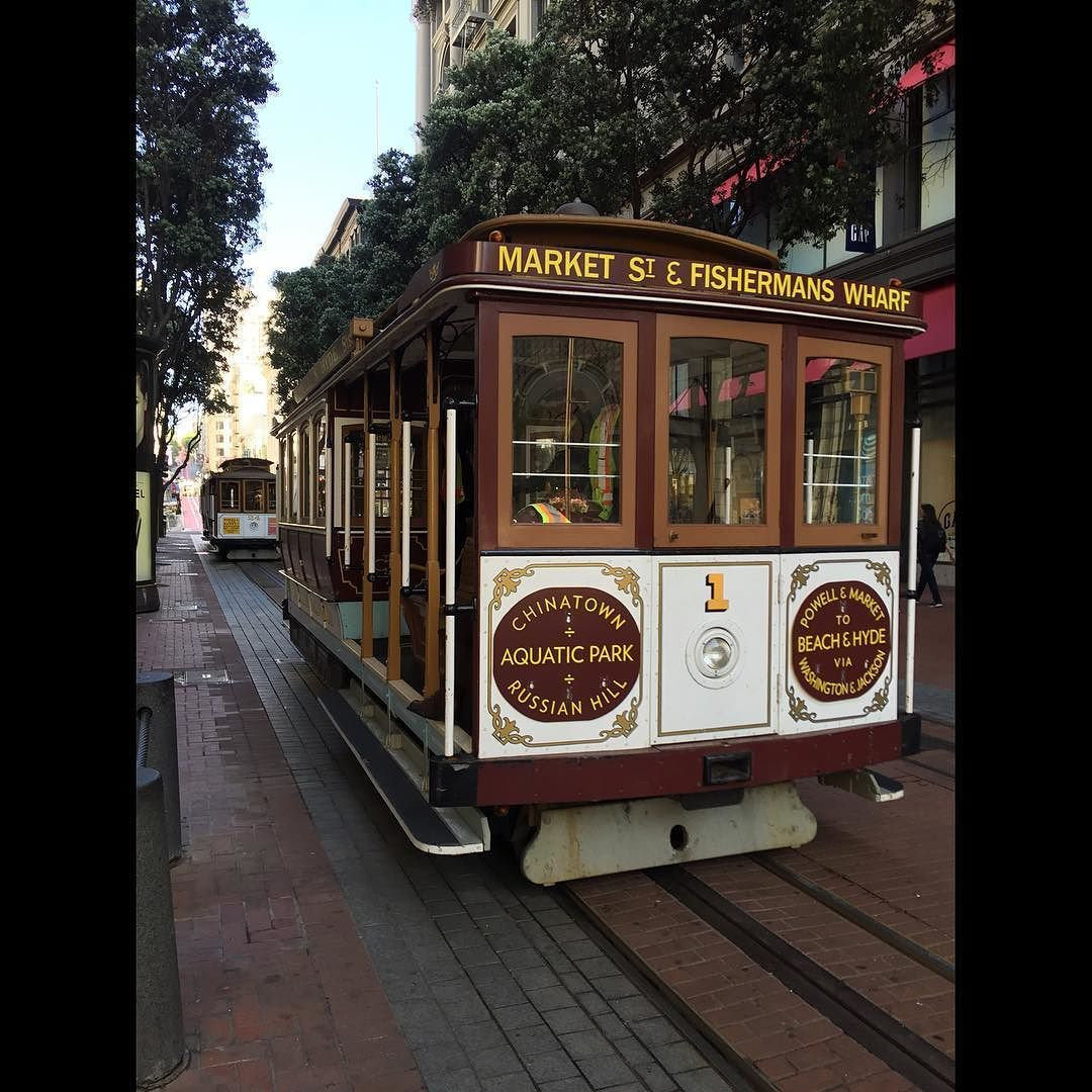 "Alberto on Instagram: ""Powell Station Cable Car, San ..."